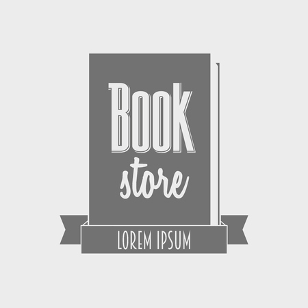 Vector concept of book store