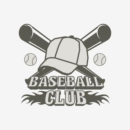 Baseball Logo, Badge Or Label Design Template. Baseball Ball ...