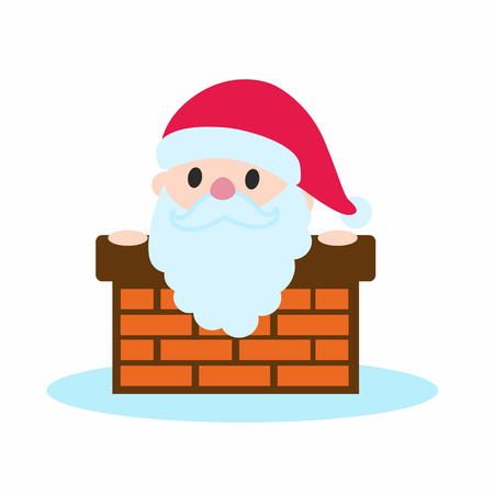 st  nick: Santa Claus in the chimney