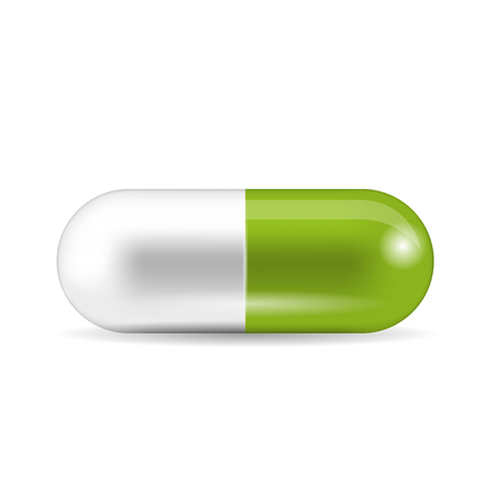 Pill isolated Vector illustration