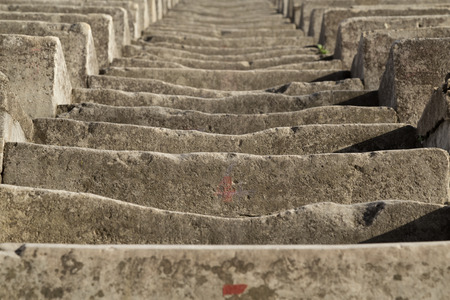 theatrics: Ancient Eroded Stone Stairs