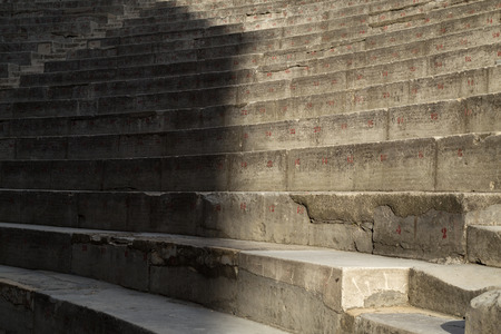 theatrics: Ancient Theater Row of Seats. Orange, France
