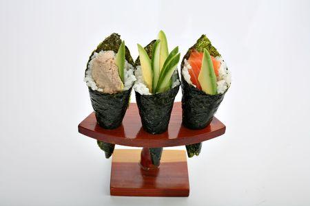 Japanese meal - sushi photo
