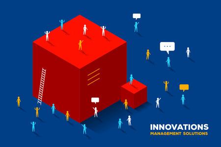 Innovation solution concept
