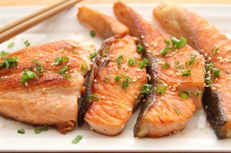 teriyaki: Teriyaki Crispy Skin Salmon