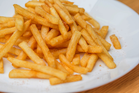 French fries close up