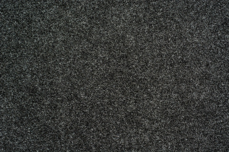 black fabric: Close up of felt fabric for texture or background Stock Photo