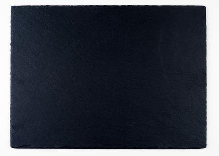 dark grey slate: Dark grey slate plate for background or texture Stock Photo