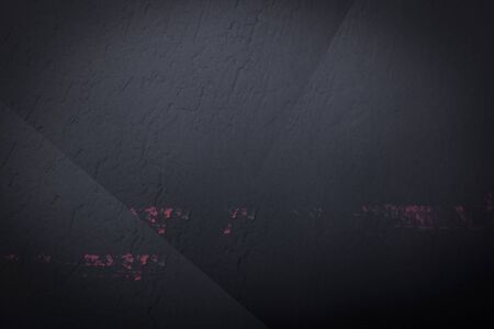 Black abstract background of dark cement with fine scratches