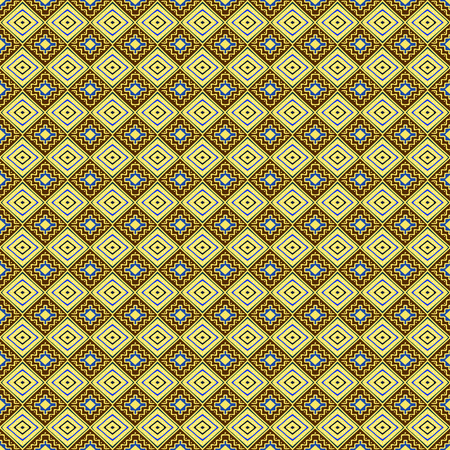post cards: Seamless geometrical ethnic pattern. Hand drawn abstract wallpaper template for textile, wrapping, post cards etc. Illustration