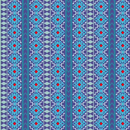 post cards: Seamless boho pattern with aztec ornament. Hand drawn abstract wallpaper template for textile, wrapping, post cards etc.