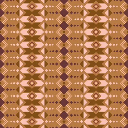 mexican folklore: Aztec style seamless pattern. Abstract wallpaper with aztec ornament. Tribal aztec print. Aztec design. Aztec background. Illustration