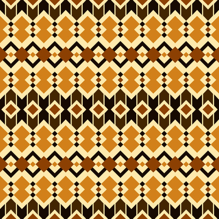 latin americans: Seamless pattern in boho chic style. Abstract vector background with aztec motives.