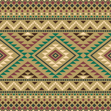 aztec: Aztec seamless pattern. Abstract background with tribal aztec ornament. Aztec design. Ethnic aztec print. Aztec style wallpaper.