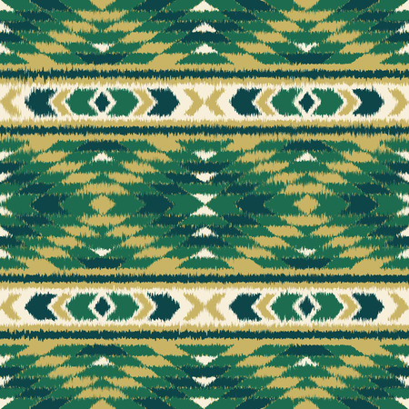 folklore: Aztec seamless pattern. Folklore stylized abstract vector background. Carpet imitation. Grunge effect. Boho design.