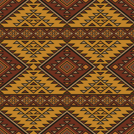 absract: Absract seamless pattern in boho style. Aztec print template for fabric, paper, bags, wrapping, post cards, etc. Illustration