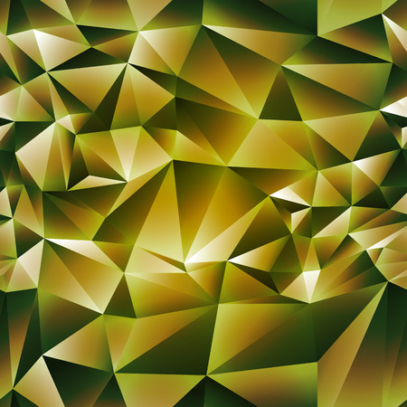 geometrical pattern: Seamless geometrical pattern with gradient colored triangles. Abstract vector background in low poly style. Illustration