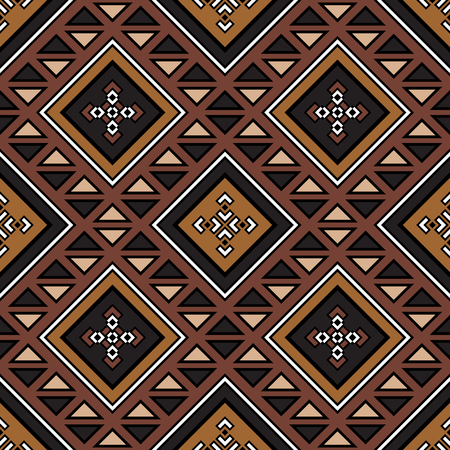 mexican folklore: Ethnic seamless pattern. Boho chic design. Aztec stylized print. Tribal aztec ornament. Abstract background with ethnic motives. Aztec pattern.