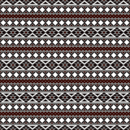 post cards: Seamless ethnic pattern. Aztec stylized print template for fabric, paper, wrapping, post cards, etc. Boho chic design.