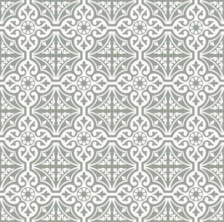Tiles Floral portuguese style pattern, usually used in tiles in Spain, Portugal and other Mediterranean countries