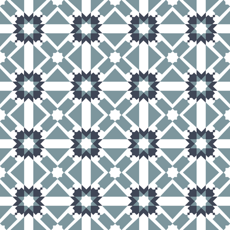 Modern arabic pattern usually used for tiles in arabic and mediterranean countries