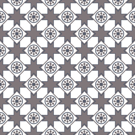 Elegant arabic pattern usually used for tiles in arabic and mediterranean countries