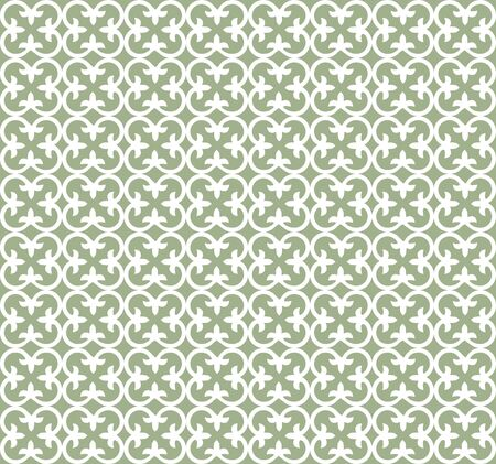 Vector seamless floral tiles pattern