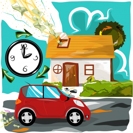 immovable property: Different of Time value