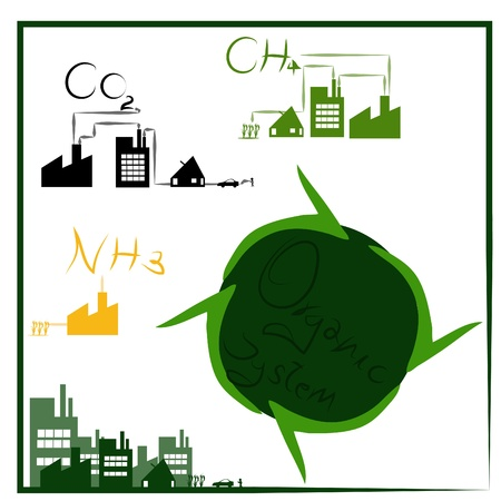 carbondioxide: Product of Organic system