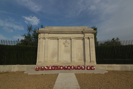 greenwich: The great war memorial in Greenwich, UK
