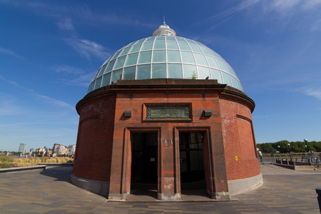 greenwich: Entrance to the Greenwich Foot Tunnels