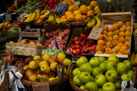 grocers: Typical Fruit Stand