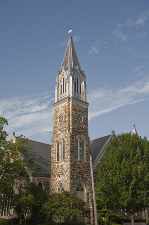 church steeple: Church steeple