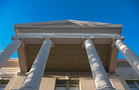 courthouse: Courthouse columns