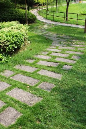 greensward walkway photo