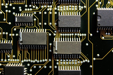 circuit board photo