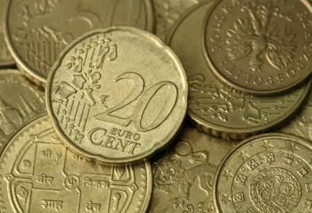 Golden coins texture Stock Photo - 15459699