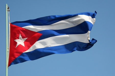 Cuban national flag photo