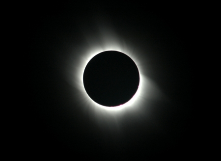 moon eclipse: Total solar eclipse