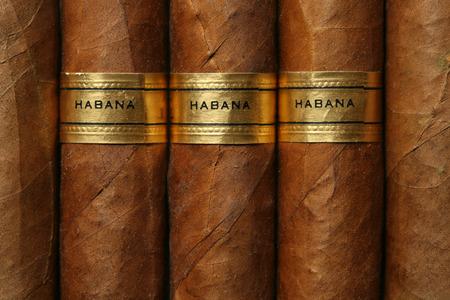 cigarro: Habanos textura Foto de archivo