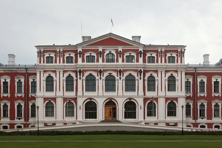 bartolomeo rastrelli: Jelgava Palace also known as Mitava Palace designed by Russian Baroque architect Bartolomeo Rastrelli in Jelgava, Latvia. Editorial