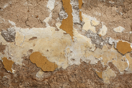 cracked concrete frame: old wall, cracked plaster, stucco, background, texture, textured, full frame, abstract, nobody, macro, close up, closeup, close-up, detail, pattern, object, material, design, wall, old, plaster, stucco, crack, cracked, damaged, broken, concrete, cement, b Stock Photo