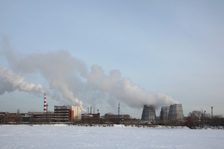 Verkh-Isetsky Metallurgical Plant also known as the VIZ in Yekaterinburg, Russia.