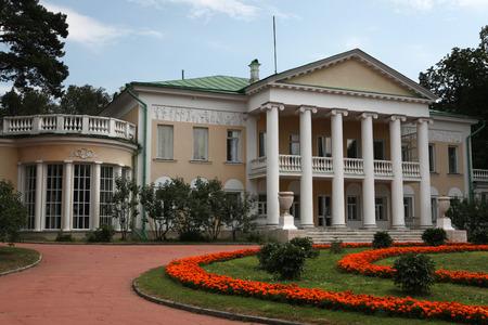 gorki: MOSCOW, RUSSIA - JULY 9, 2012: Gorki Estate where Soviet leader Vladimir Lenin dead in 1924 near Moscow, Russia.