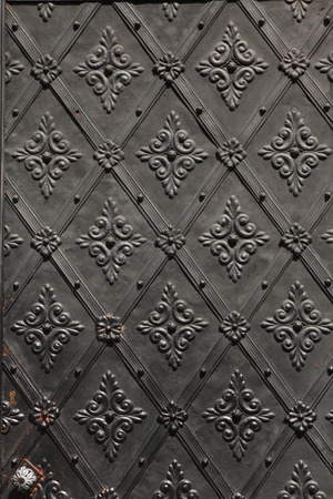 metal gate: Old metal gate. Background texture.