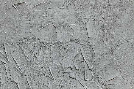 stucco: Grey stucco wall.  Stock Photo