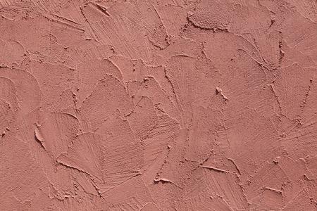 stucco texture: Terracotta stucco wall. Background texture. Stock Photo