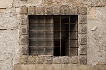 renaissance: Renaissance barred window in Bergamo, Lombardy, Italy.