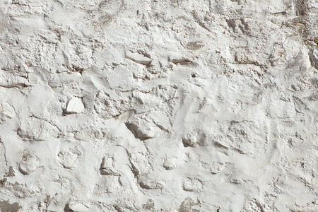 whitewashed: Whitewashed stone and clay wall. Background texture.