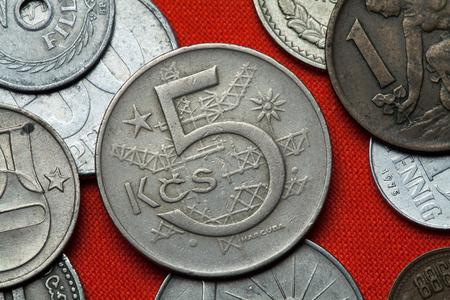 czechoslovak: Coins of Czechoslovakia. Czechoslovak five koruna coin (1966) coined in the Czechoslovak Socialist Republic.